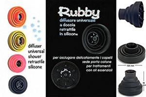 DUNE 90 Diffusore RUBBY Universale Retrattile in Silicone