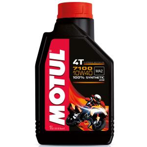 OLIO MOTORE MOTUL 7100 4 TEMPI - 100% SINTETICO  (SAE 10W40)