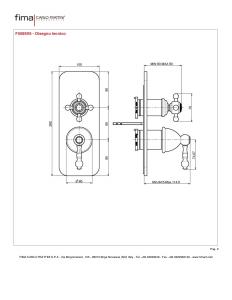 MISCELATORE INCASSO CON DEVIATORE A 2 O 3 USCITE SERIE EPOQUE - F5089X6