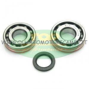 KK01010 Kit cuscinetti paraoli di banco Minarelli/Yamaha 125/150/180 cc