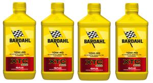 OLIO MOTORE BARDAHL XTC C60  per MOTO 4 TEMPI RACING - SINTETICO 100%  SAE10W40