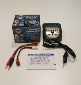 Battery Charger LiPo/ LiFe/ NiMH Black Storm