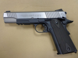 COLT 1911 Rail Gun ® CO2 Black Dual Tone