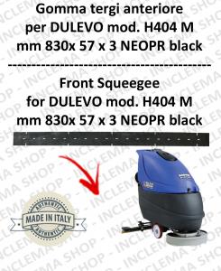 H404 M serie 6 goma de secado fregadora delantera para DULEVO