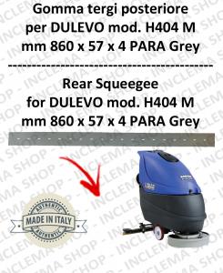 H404 M serie 6 Bavette autolaveuses arrière pour DULEVO