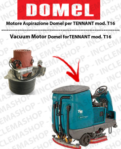 T16 Vacuum Motor Domel for scrubber dryers TENNANT