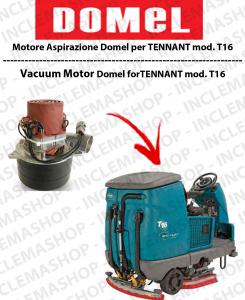 T16 moteurs aspiration Domel pour autolaveuses TENNANT