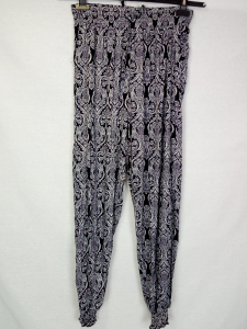 Pantaloni donna fantasia