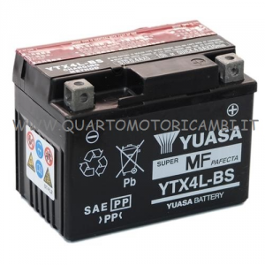 YTX4L-BS Batteria Yuasa 12V Senza Manutenzione