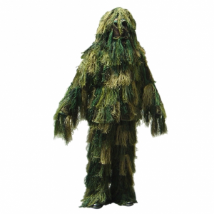 Completo mimetismo totale Ghillie Woodland