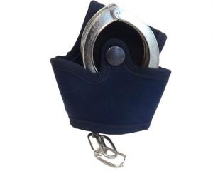 Porta manette aperto in cordura BLU