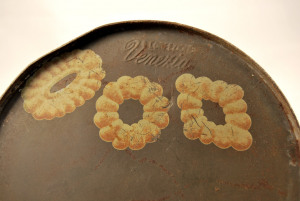 Scatola vintage biscotti Doria