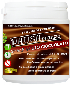 Pausa Pranzo 300gr gusto CIOCCOLATO Frullato Proteico