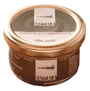 Baccalà Mantecato alle Olive in Vasetto - 90gr
