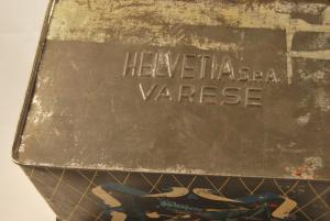 Scatola vintage Helvetia