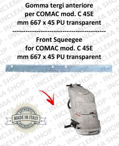 C 45E Vorne sauglippen für scheuersaugmaschinen COMAC