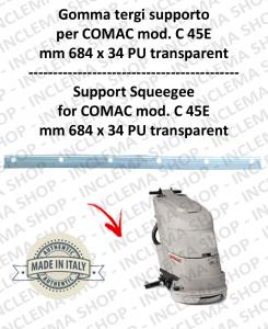 Bavette soutien pour autolaveuses COMAC C 45E