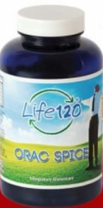LIFE 120 - ORAC SPICE INTEGRATORE A BASE VEGETALE