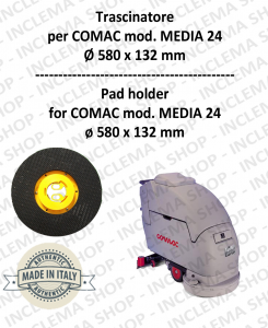 TRASCINATORE per lavapavimenti COMAC mod. MEDIA 24