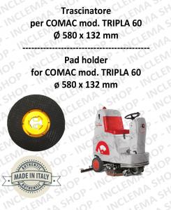 TRASCINATORE per lavapavimenti COMAC mod. TRIPLA 60