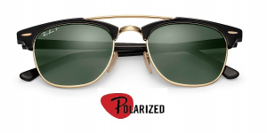 Rayban Rb 3816 Clubmaster Double Bridge Polarized