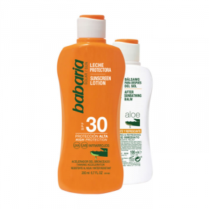 Babaria Sun Sunscreen Lotion Spf30 200ml Set 2 Parti 2018