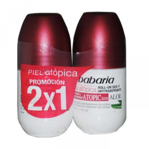 Babaria Deodorante Roll On Pelli Atopiche 50ml Set 2 Parti 2018