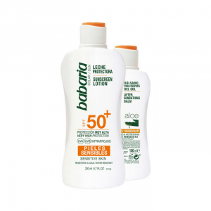Babaria Sun Sunscreen Lotion Spf50 Plus 200ml Set 2 Parti 2018