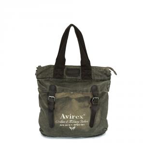 Avirex - 140506 - Borsa a tracolla da spesa verde militare cod. E