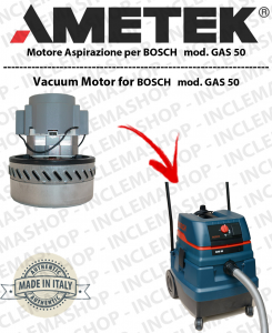GAS 50 AMETEK vacuum motor  for vacuum cleaner BOSCH