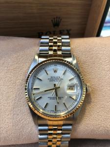 Orologio Rolex Datejust acciaio/oro