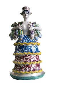 Lumiere Woman with Caltagirone fish