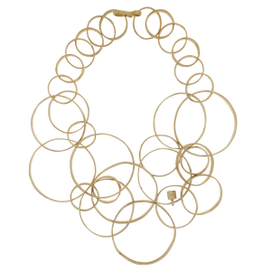 Multi Circles necklace in 925 silver