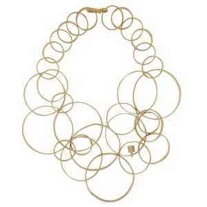 Collana multi Circles in argento 925