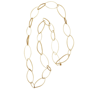 Lulia long chain in 925 silver