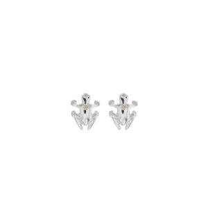 Orecchini in argento 925 e diamante