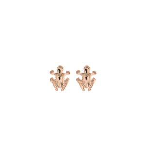 Orecchini in oro 9k e diamante