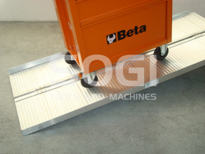 Rampa in alluminio per disabili carico quad trattorino sogi for Trattorino disabili