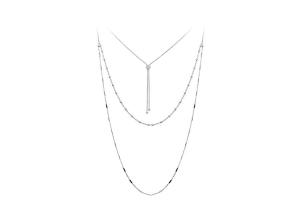 ROSATO-Collana in argento da donna