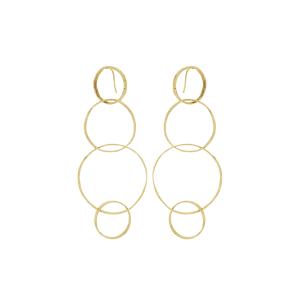 Earrings cm. 10 in 925 silver
