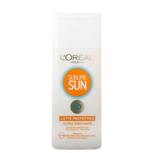 L'OREAL Sublime Sun - Latte Protettivo Ultra-Idratante