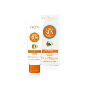 L'OREAL Sublime Sun Crema Viso Protettiva Spf 15