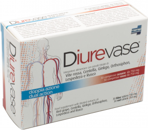 DIUREVASE COMPRESSE 750MG