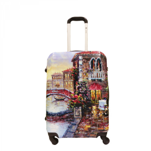 BESTBAGS - Riverside - Trolley medio 66 cm 4 ruote rigido espandibile multicolore cod. 41259966