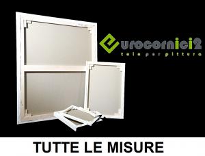 Tele 17 mm in Misto Lino  - Spessore 17mm  - Telaio telato 17 mm Mito Lino