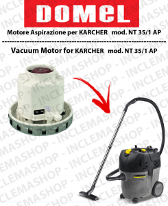NT 35/1 AP DOMEL VACUUM MOTOR for vacuum cleaner KARCHER