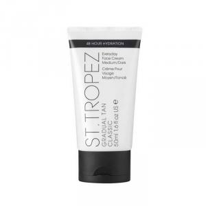 St Tropez Gradual Tan Classic Face Cream Medium Dark 50ml