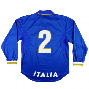 1996-97 Italia Maglia Home PLAYER ISSUE #2 Ferrara L (Top)