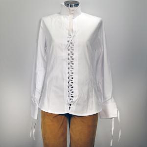 Camicia Cotone Bianca Donna