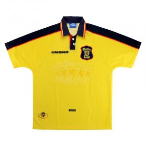 1996-99 Scotland SHIRT Away L (Top)